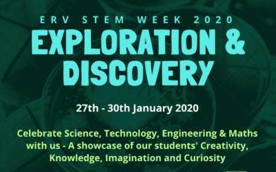 ERV is celebrating STEM week